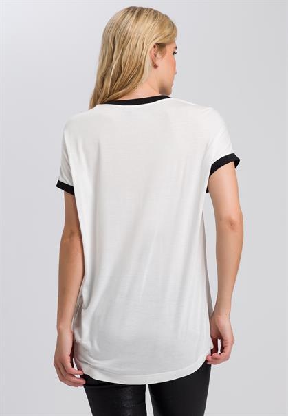 Marc Aurel t-shirts 7040-7000-73223 in het Roest