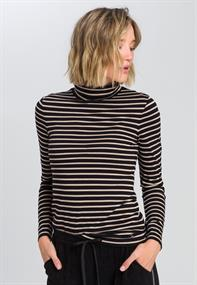 Marc Aurel t-shirts 7067-7000-73252 in het Zwart / Wit