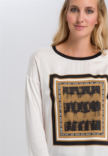 Marc Aurel t-shirts 7072-7000-73253 in het Roest