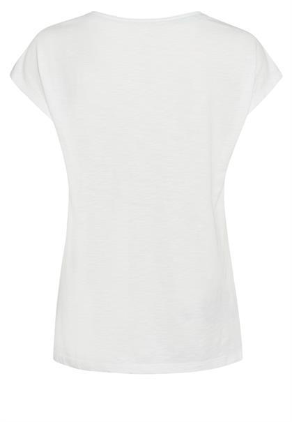 Marc Aurel t-shirts 7119-7000-73286 in het Offwhite