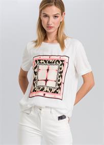 Marc Aurel t-shirts 7123-7000-73290 in het Roest