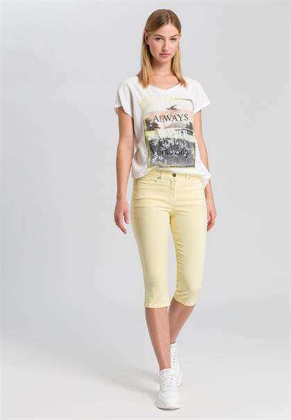 Marc Aurel t-shirts 7148-7000-73325 in het Roest