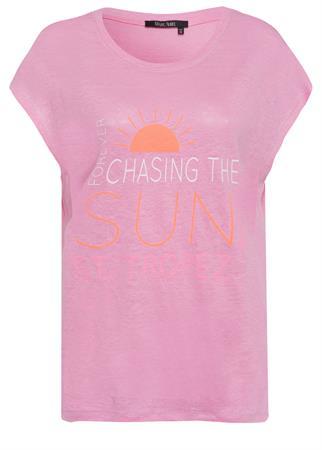 Marc Aurel t-shirts 7151-7000-73328 in het Roze