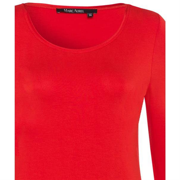 Marc Aurel t-shirts 76807000-72842 in het Rood
