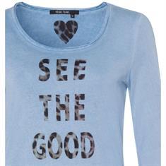 Marc Aurel t-shirts 77507000-72938 in het Licht Blauw