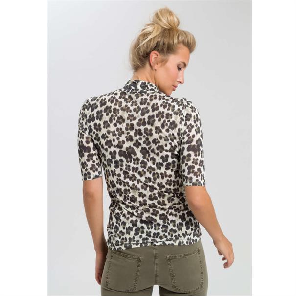 Marc Aurel t-shirts 79037000-73106 in het Kaky