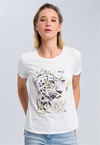 Marc Aurel t-shirts 7976-7000-73158 in het Roest