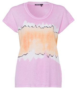 Marc Aurel t-shirts 8590-8000-81947 in het Roze