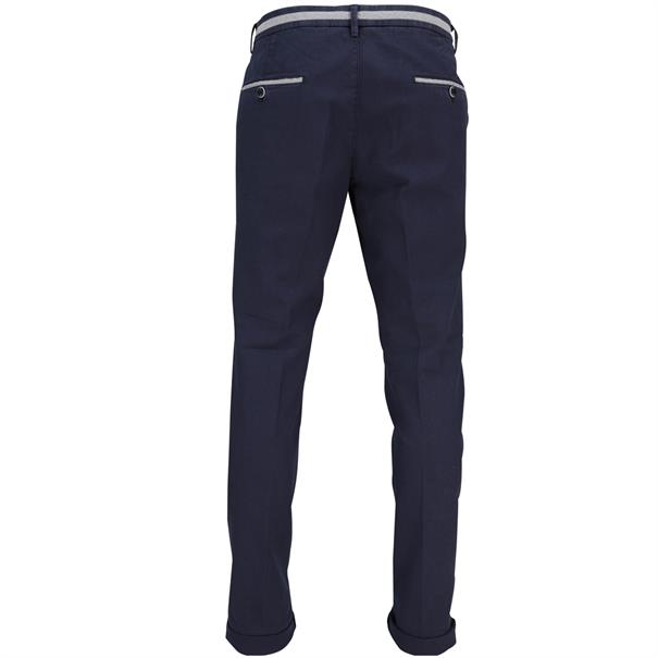 Mason's broeken Tapered fit CBE325 in het Donker Blauw