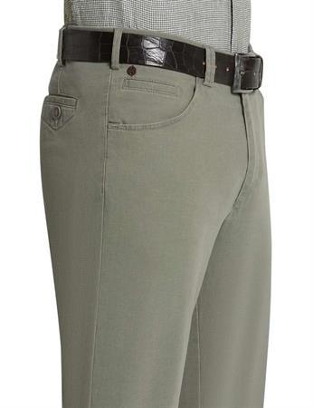 Meyer 5-pocket Dublin 1271313200 in het Donker Groen