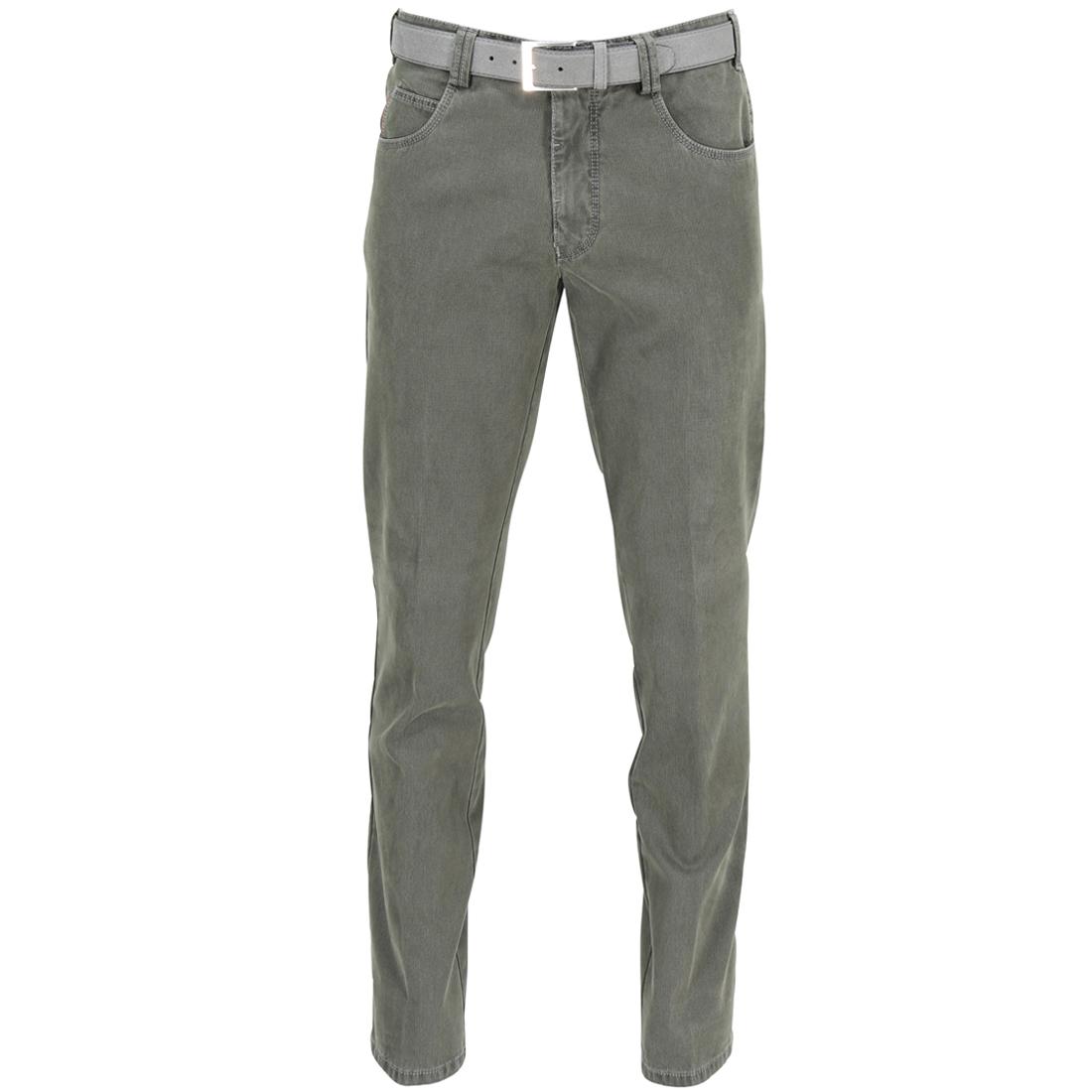 Meyer Hosen broek 3062556000 in het Donker Groen