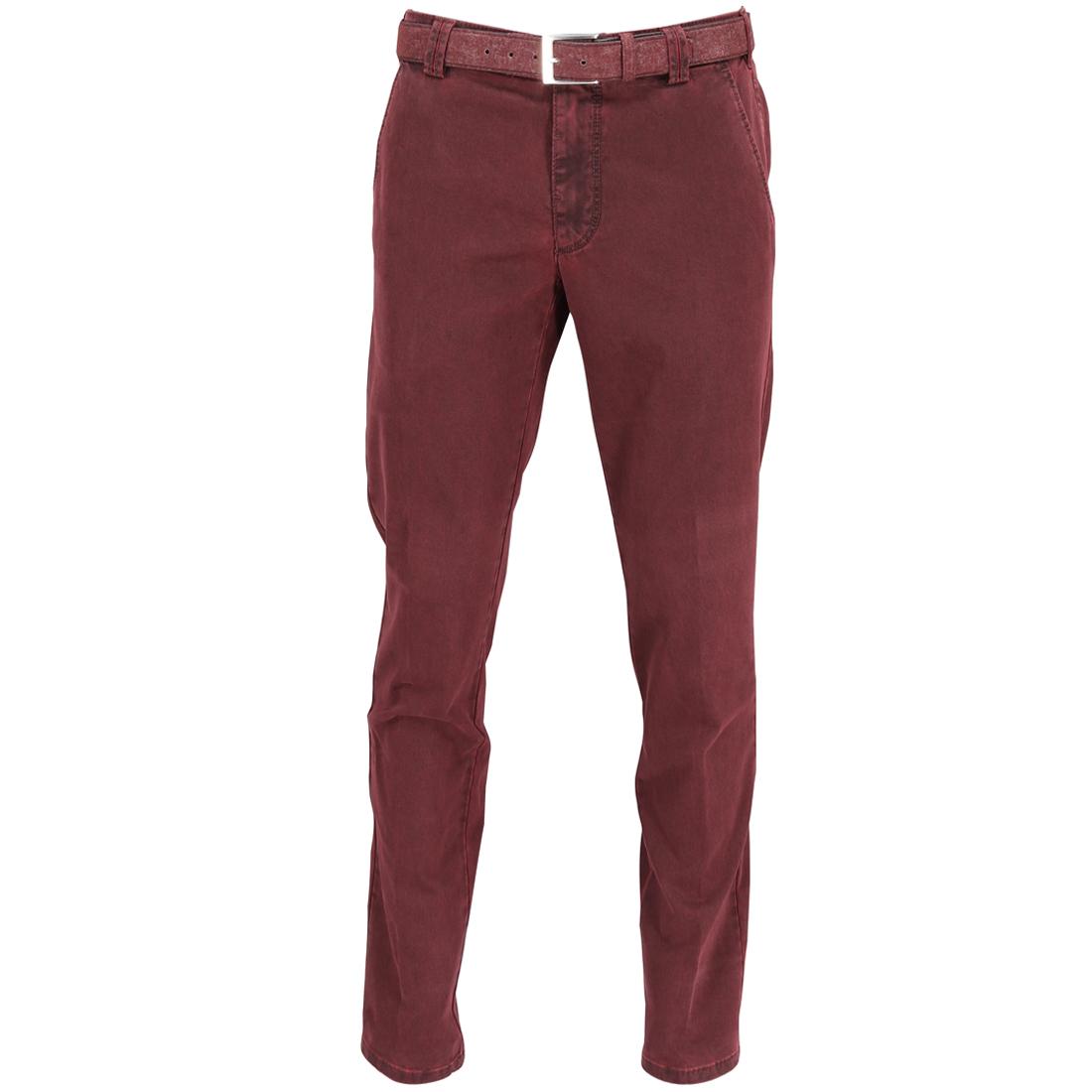 Meyer Hosen broek Bonn 1022555800 in het Donker Rood