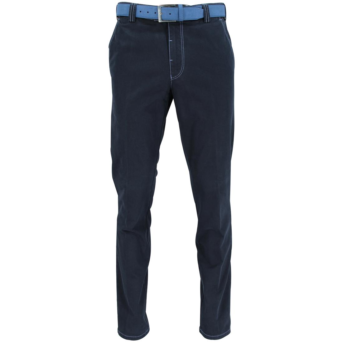 Meyer Hosen broeken 1241500100 in het Donker Blauw
