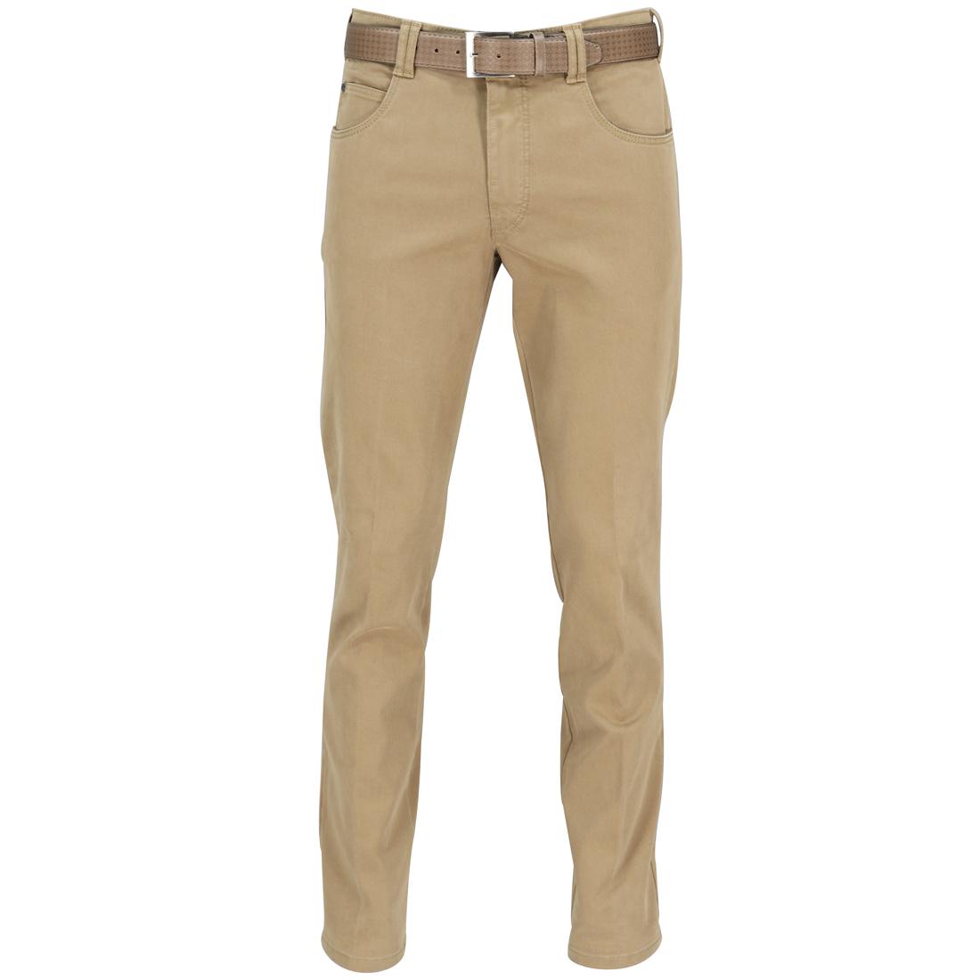Meyer Hosen broeken 3102351600 in het Camel