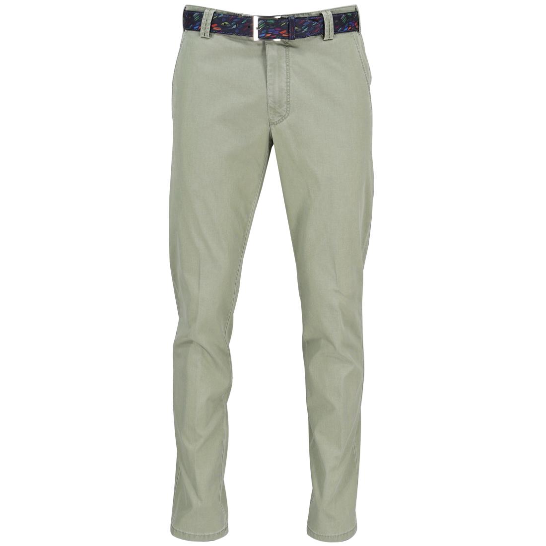 Meyer Hosen broeken Bonn 1021501300 in het Groen