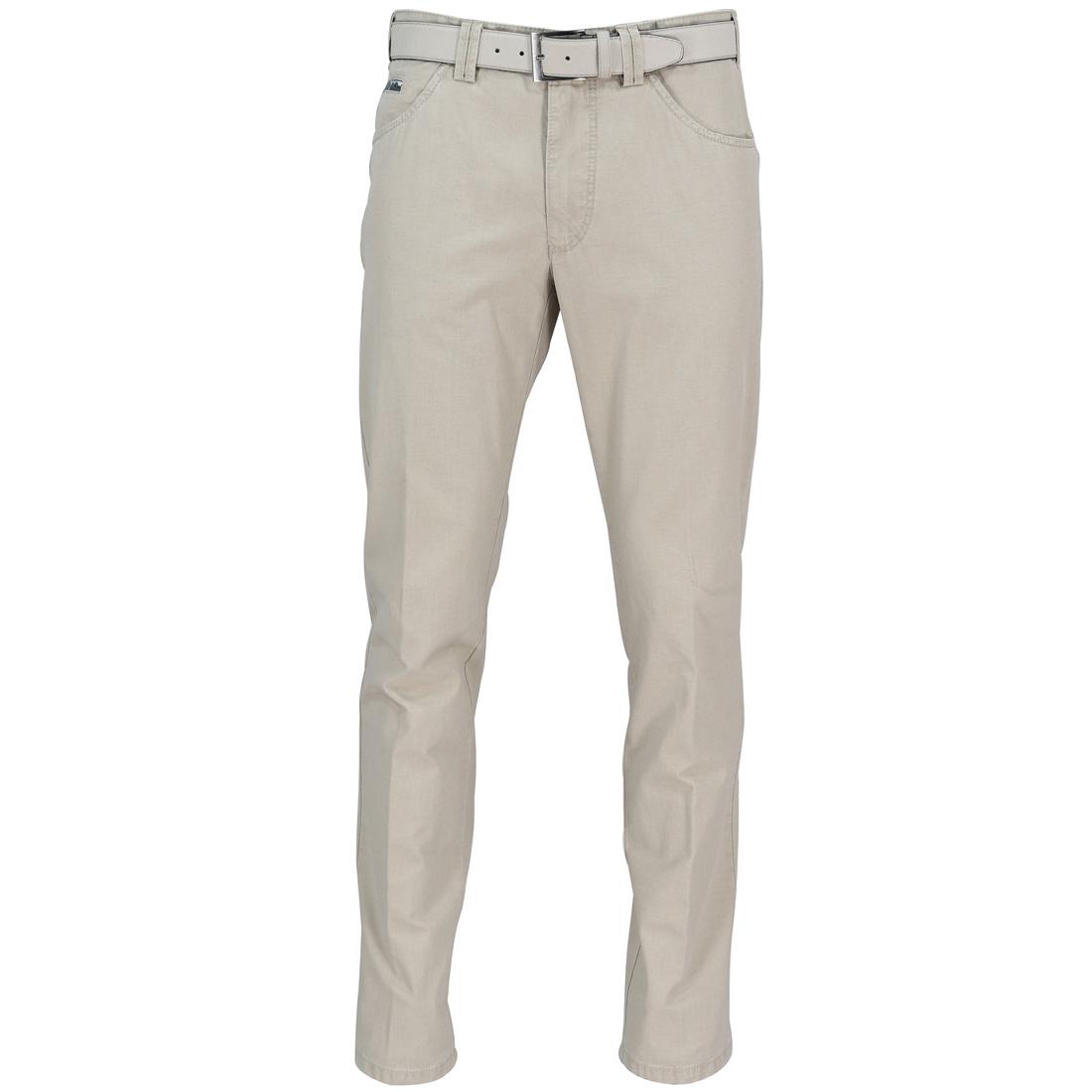 Meyer Hosen broeken Dublin 1271501500 in het Beige