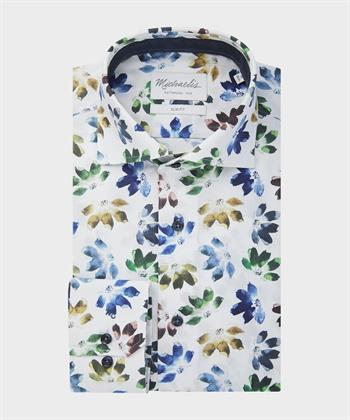 Michaelis business overhemd Slim Fit PMRH300001 in het Multicolor