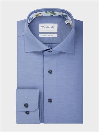 Michaelis business overhemd Slim Fit PMRH300004 in het Blauw