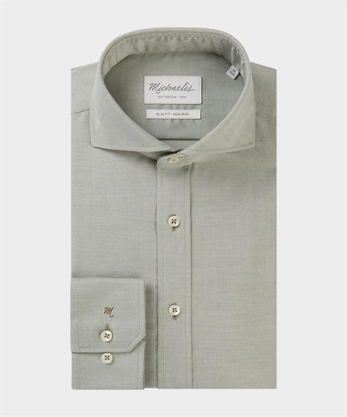 Michaelis business overhemd Slim Fit PMRH300015 in het Groen