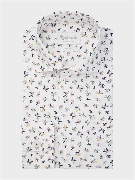 Michaelis business overhemd Slim Fit PMRH300040 in het Multicolor