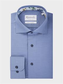 Michaelis overhemd Slim Fit PMRH300004 in het Blauw