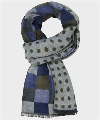Michaelis sjaals PMQS30011C in het Olijf groen
