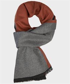 Michaelis sjaals PMRS30008D in het Roest