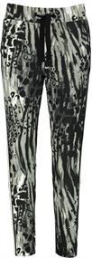 Monari broeken 405452 in het Donker grijs