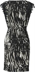 Monari jurk 405831 in het Donker grijs