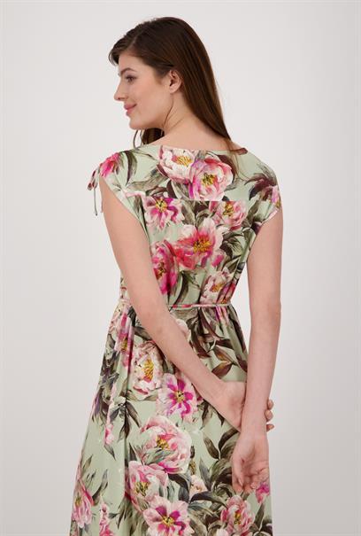Monari jurk 406592 in het Olijf groen