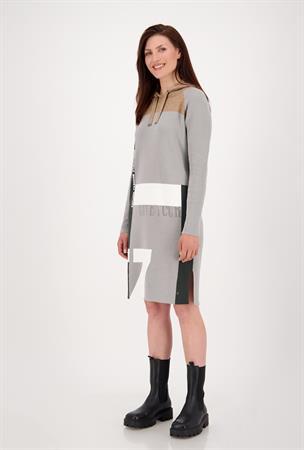 Monari jurk 805518 in het Grijs
