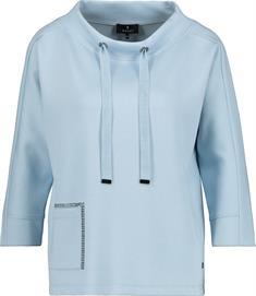 Monari sweater 405929 in het Licht Blauw