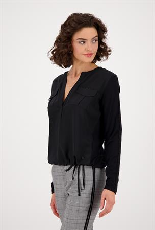 Monari sweater 805455 in het Zwart