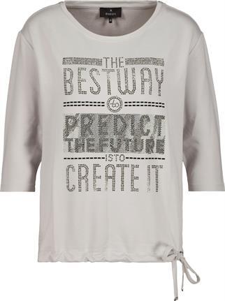Monari sweater 805490 in het Grijs