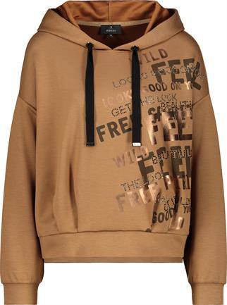Monari sweater 805491 in het Licht Bruin
