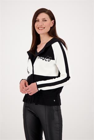 Monari sweater 805527 in het Zwart