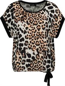 Monari t-shirts 405126 in het Zwart