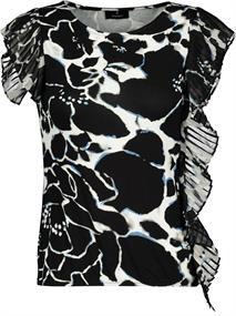 Monari t-shirts 405186 in het Zwart