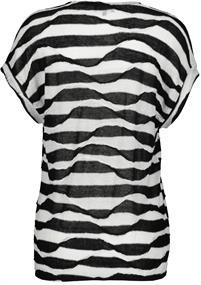 Monari t-shirts 405199 in het Zwart