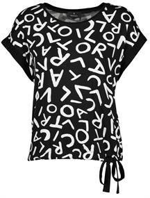 Monari t-shirts 405202 in het Zwart