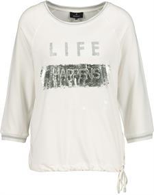 Monari t-shirts 405312 in het Offwhite