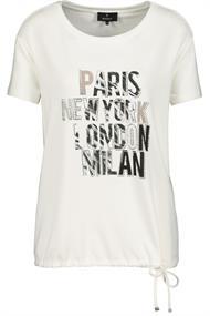 Monari t-shirts 405315 in het Offwhite
