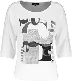 Monari t-shirts 405366 in het Wit
