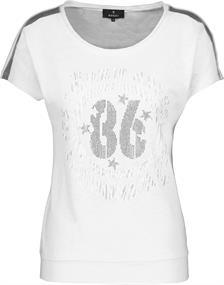 Monari t-shirts 405367 in het Wit
