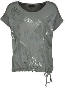 Monari t-shirts 405490 in het Taupe