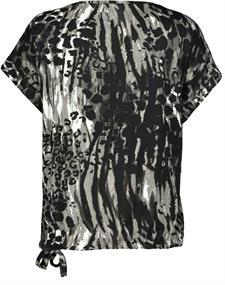 Monari t-shirts 405494 in het Donker grijs