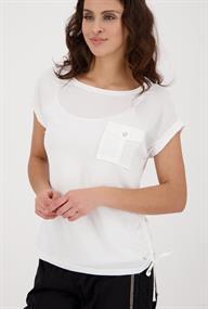 Monari t-shirts 406009 in het Offwhite