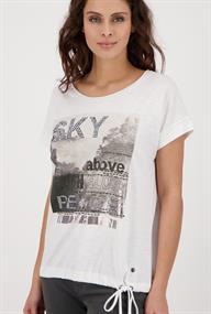 Monari t-shirts 406011 in het Wit