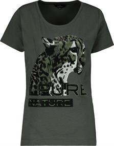 Monari t-shirts 406012 in het Bruin