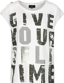 Monari t-shirts 406020 in het Wit